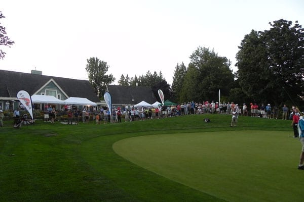 18th Green Fraserview | 2011 Vancouver Open